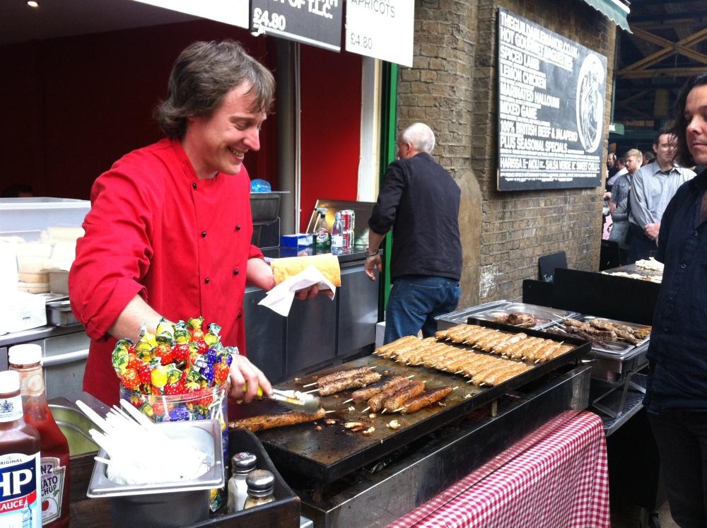 Borough Market and Cafe Nero, London (3/6)