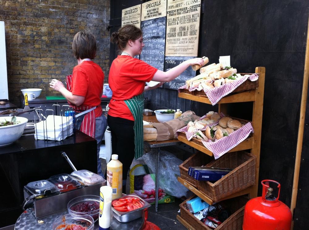 Borough Market and Cafe Nero, London (2/6)