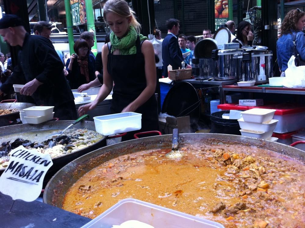 Borough Market and Cafe Nero, London (5/6)