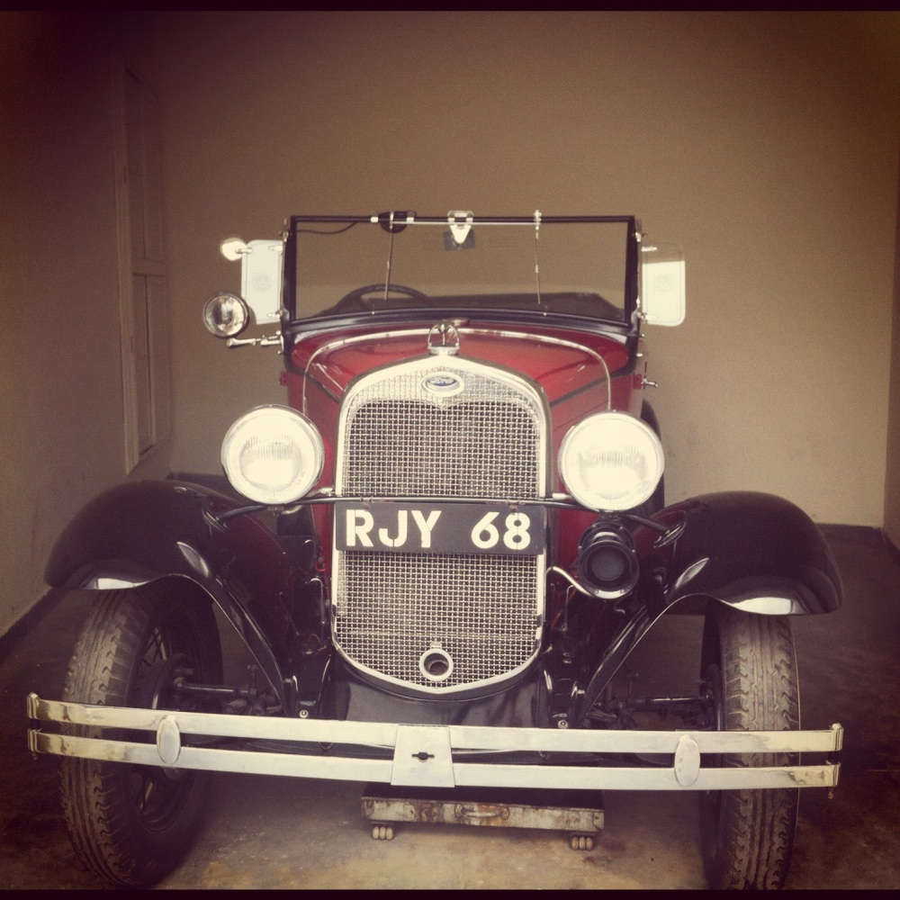 The Vintage and Classic Car Collection of the Palace Udaipur (5/6)