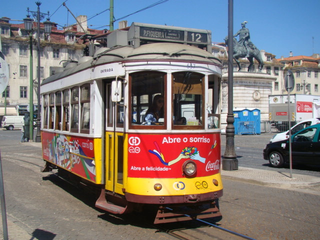 The famous tram!