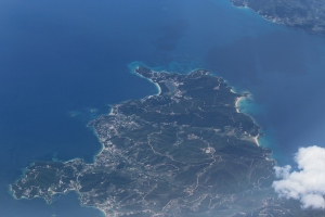 01 Landing in Santorini