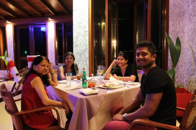 Dinner at Farumathi