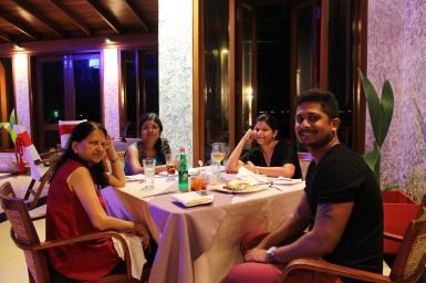 Dinner at Farumathi